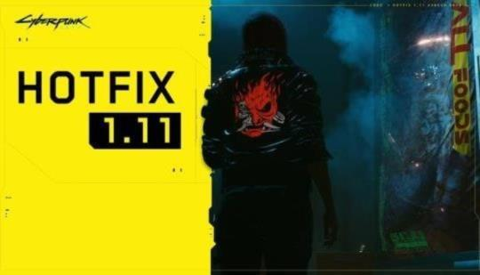 Cyberpunk 2077 Hotfix 1.11 ya está disponible