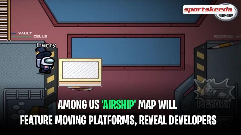 El mapa de Among Us Airship contará con plataformas móviles, revelan los desarrolladores