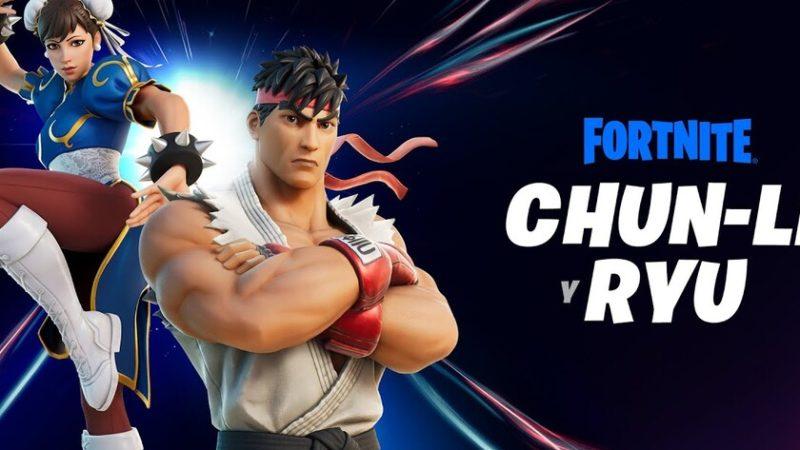 Ryu y Chun-Li de Street Fighter serán los próximos personajes invitados de Fortnite en tener su propia máscara (actualizado)