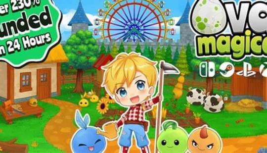 """El adorable juego de rol de granja y domador de monstruos """"Ova Magica"""" ahora está totalmente financiado a través de Kickstarter."""