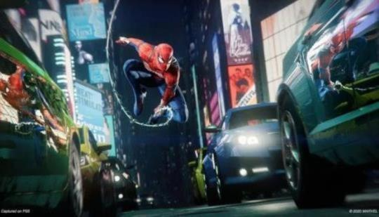 Marvel's Spider-Man Remastered Actualización 01.004 Swings Out