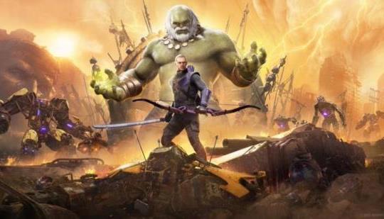 Aquí hay más de 5 minutos de juego de Marvel's Avengers PS5 con Hawkeye