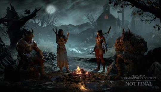 Diablo IV será bastante raro cuando se trata de encuentros con otros jugadores en el mundo abierto