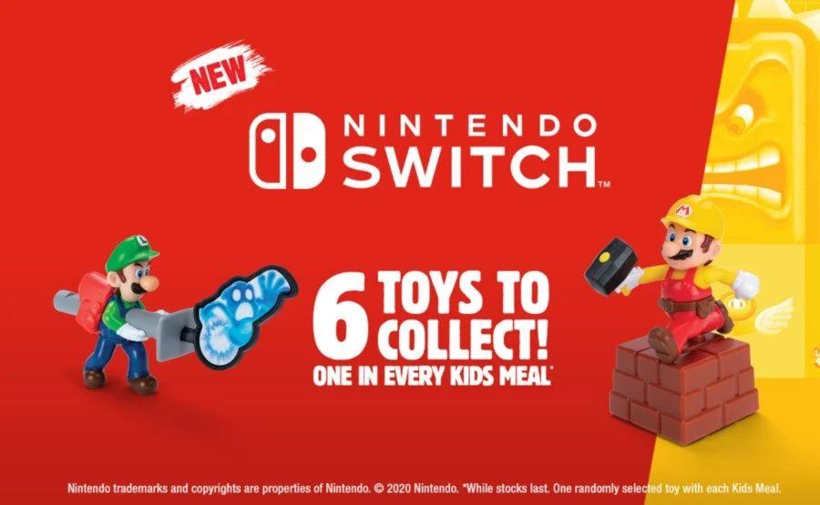 Es 2021 y Burger King tiene juguetes de Nintendo