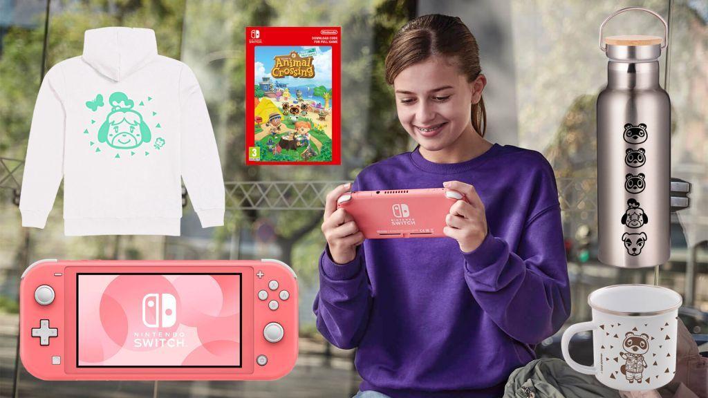 Gana una Nintendo Switch Lite, una copia de Animal Crossing: New Horizons y toneladas de merchandising extra