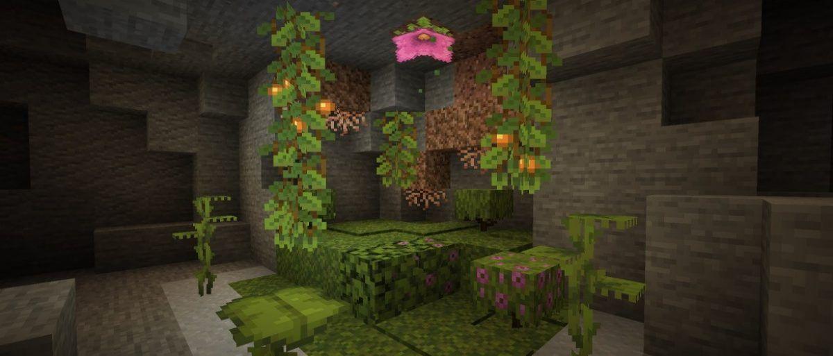 Eche un vistazo rápido al contenido de Minecraft's Caves & Cliff en esta última instantánea