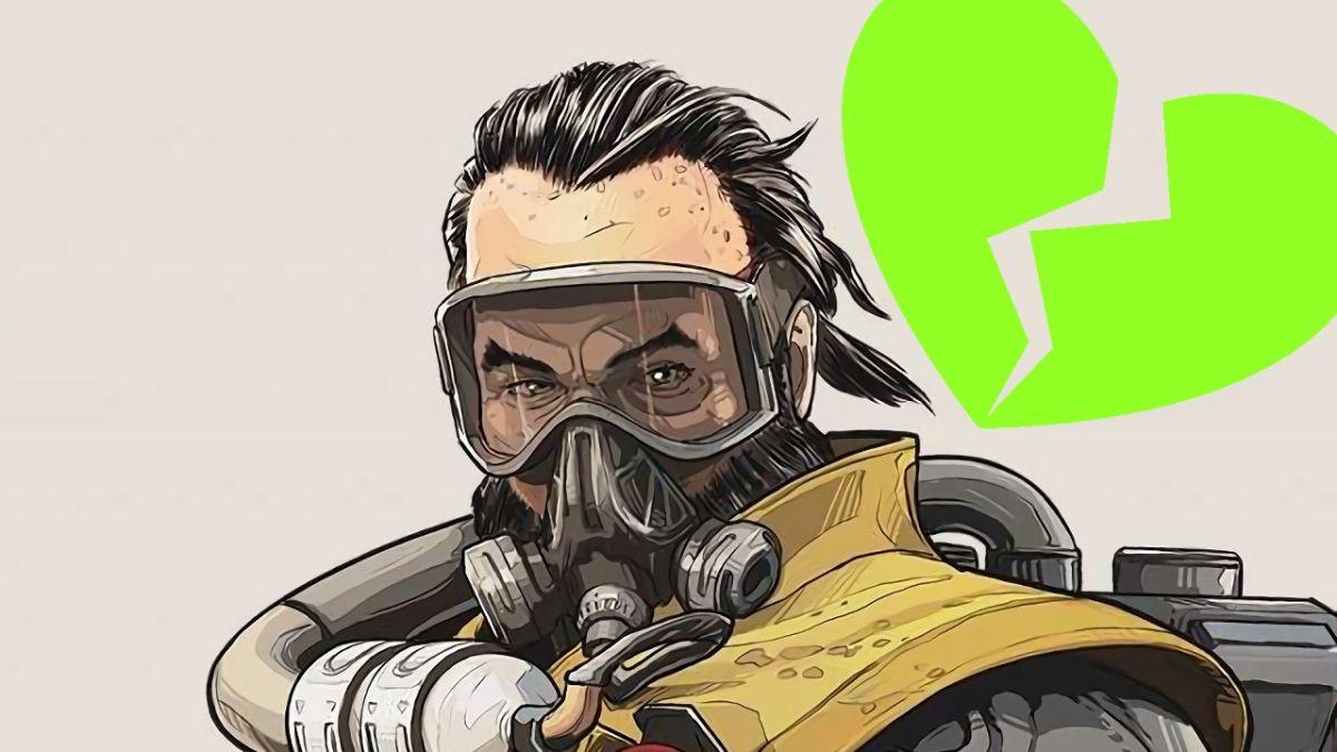 Parece que Caustic es el próximo personaje de Apex Legends en perfeccionarse