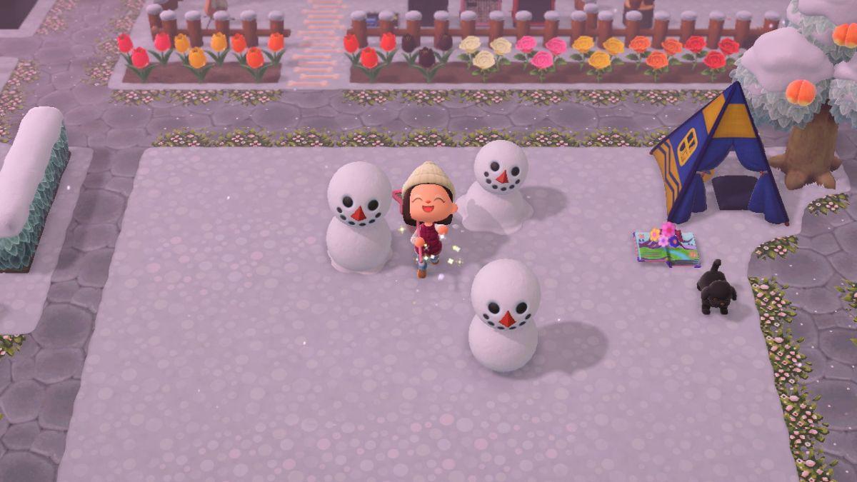 Esta es tu última oportunidad de hacer snowboys en Animal Crossing: New Horizons