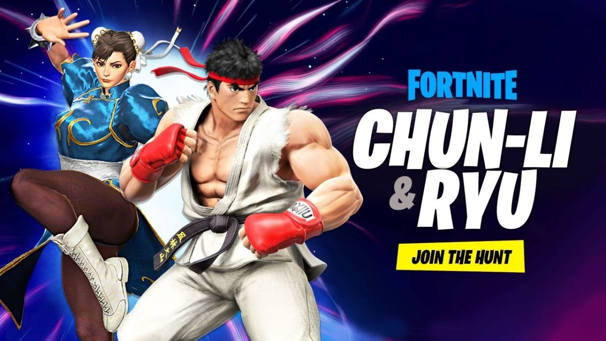 Fortnite obtiene Ryu y Chun-Li de Street Fighter