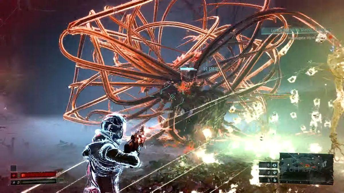 El nuevo modo de juego Returnal ofrece una mirada más profunda al combate y a los elementos villanos.
