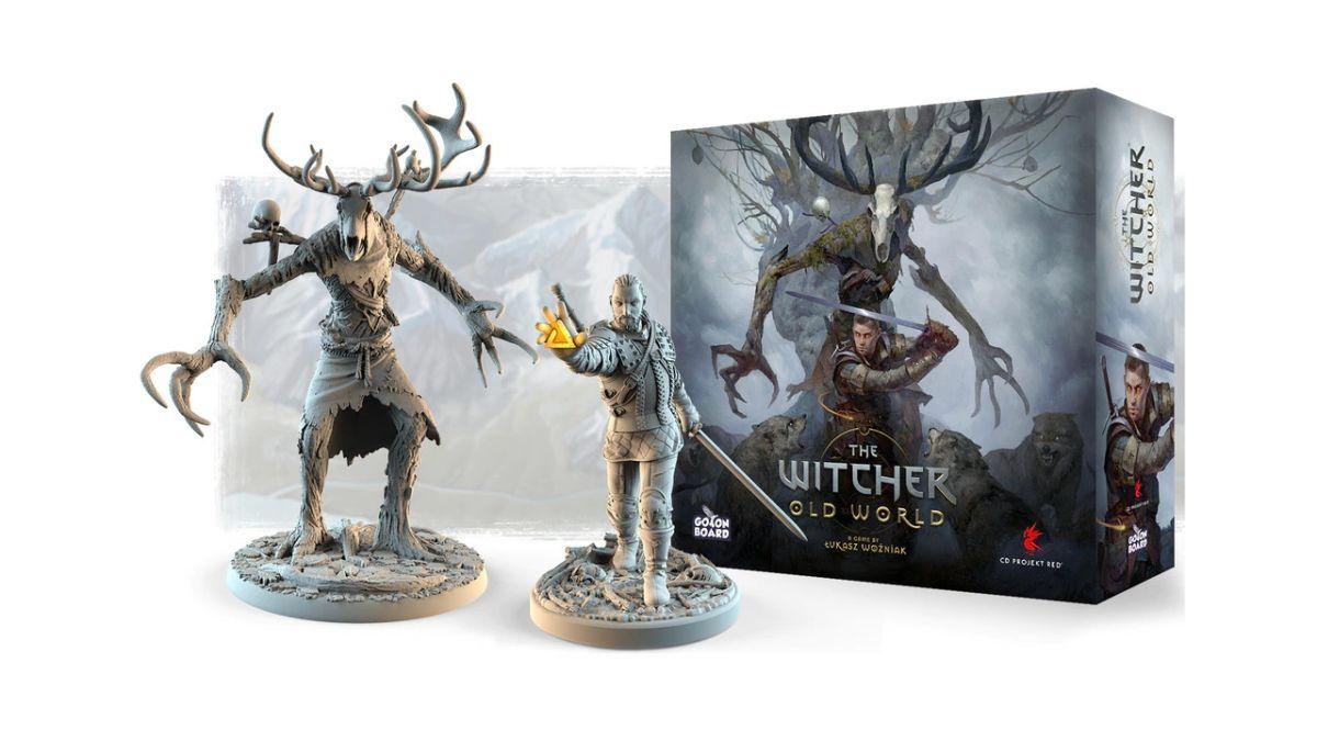 The Witcher: Old World es un nuevo juego de mesa competitivo para 2-5 brujos