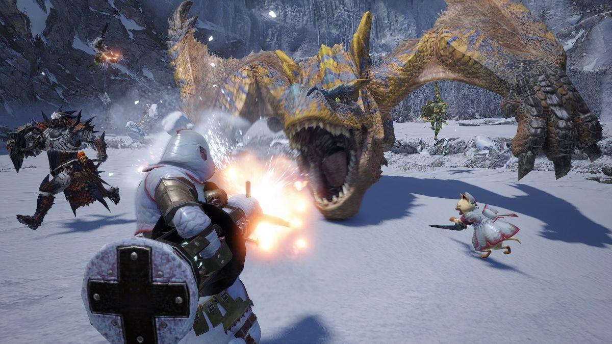 El puerto para PC de Monster Hunter Rise llegará a principios de 2022