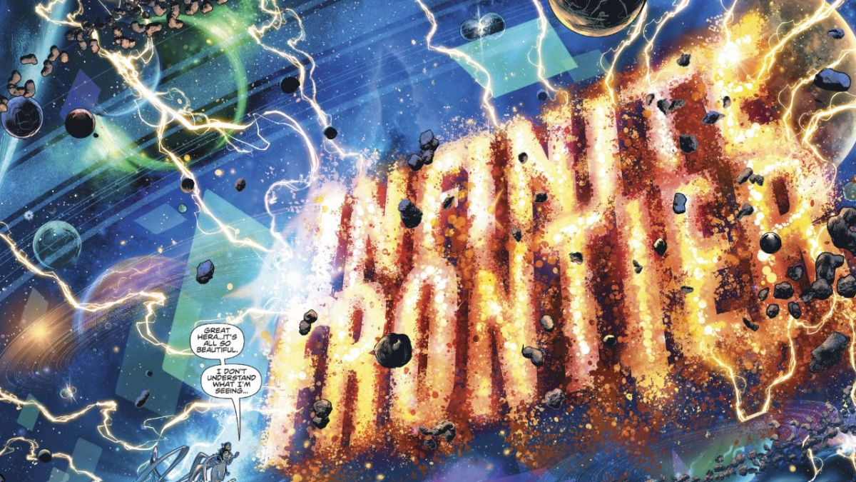 Lea las primeras seis páginas del innovador Infinite Frontier # 0 de DC