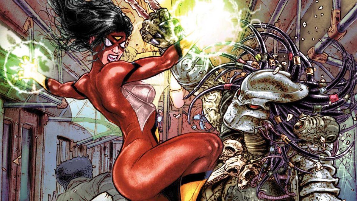 Predator persigue a Spider-Man, los Cuatro Fantásticos y más en mayo