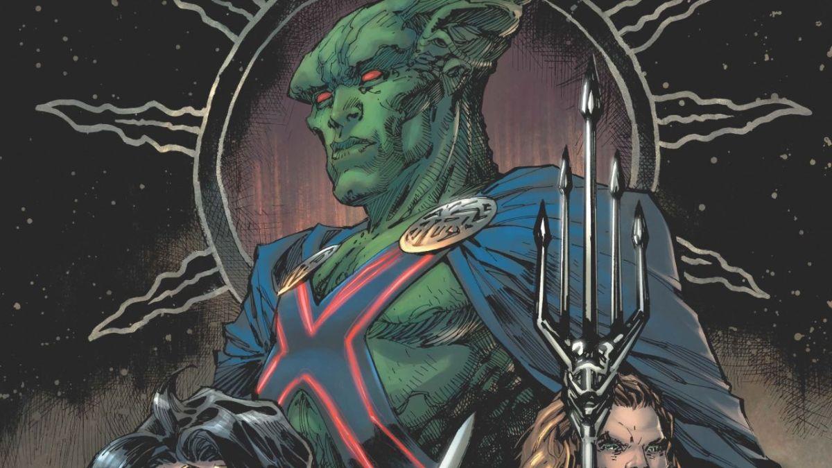 """La Liga de la Justicia de Zack Snyder recibe el cover de la versión """"Justice League # 59"""" en marzo"""