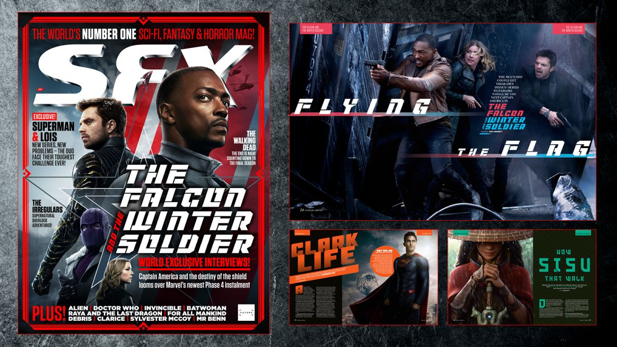 Descubra lo que The Falcon and the Winter Soldier tienen reservado con el nuevo SFX