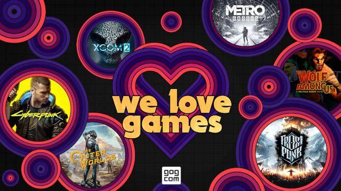 Las ventas de GOG del Día de San Valentín incluyen Cyberpunk 2077, Control: Ultimate Edition y miles más