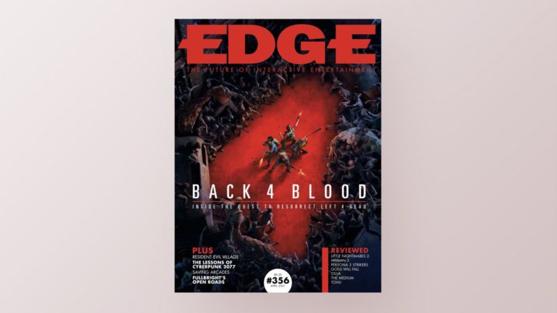 El tema de New Edge trata sobre Back 4 Blood, el sucesor espiritual de Left 4 Dead