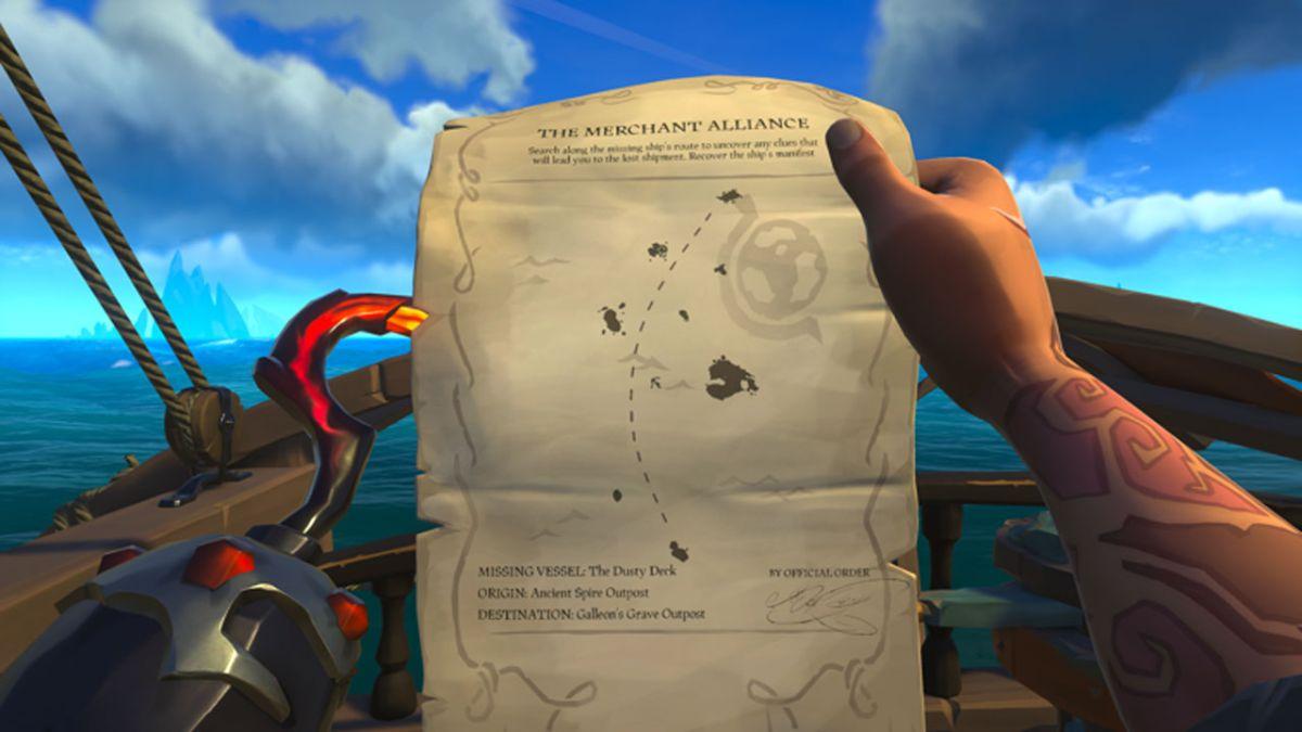 Rare organizó una verdadera búsqueda del tesoro en Sea of Thieves para un súper fanático de 6 años con fiebre de cabina