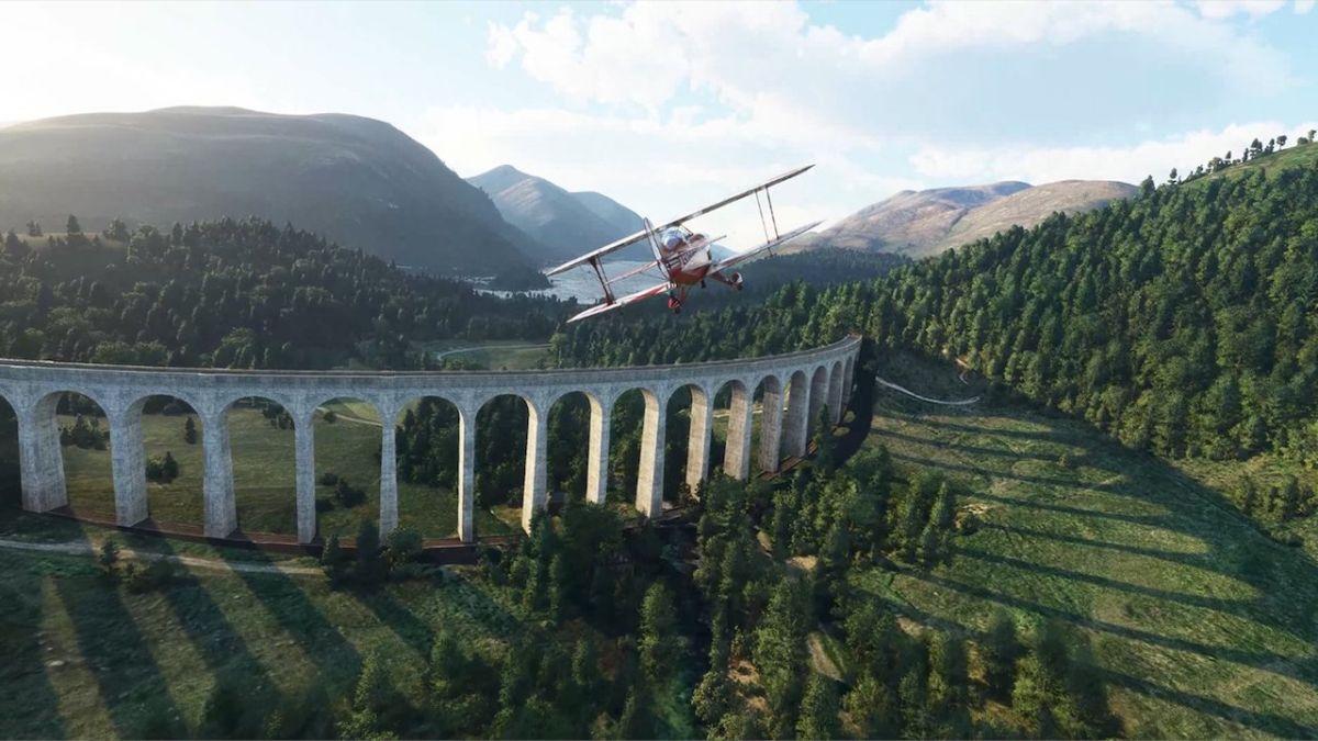 La actualización para Microsoft Flight Simulator Reino Unido e Irlanda comienza hoy