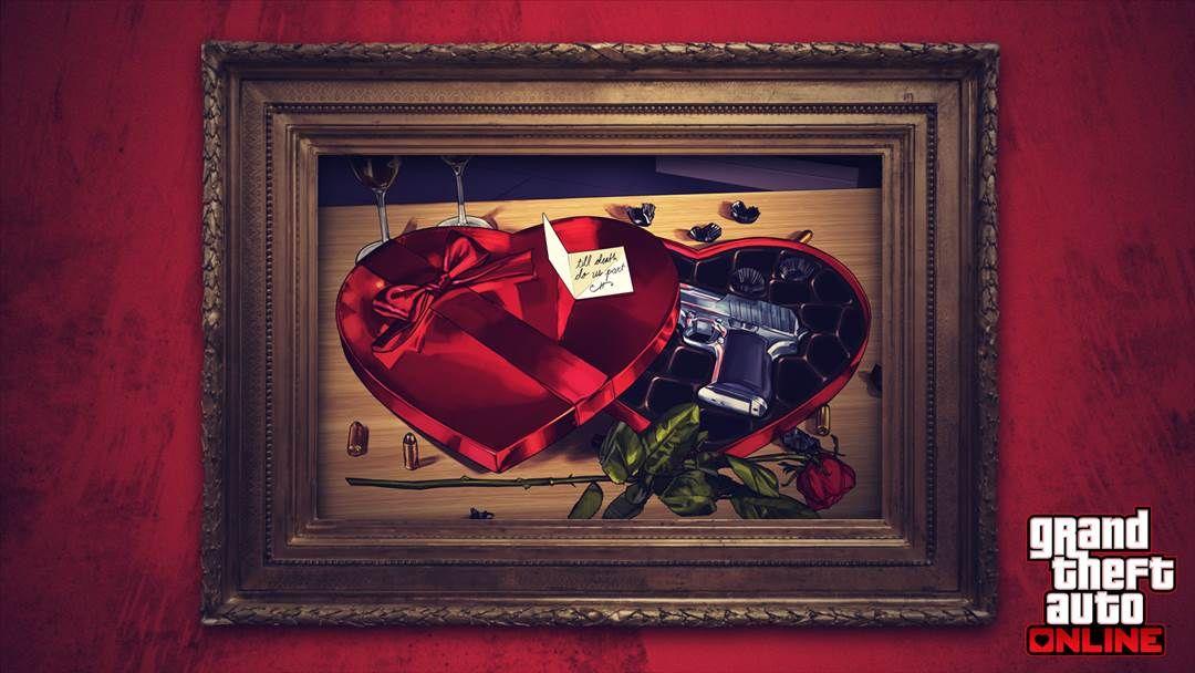 La actualización del Día de San Valentín de GTA Online incluye recompensas triples, descuentos románticos y más