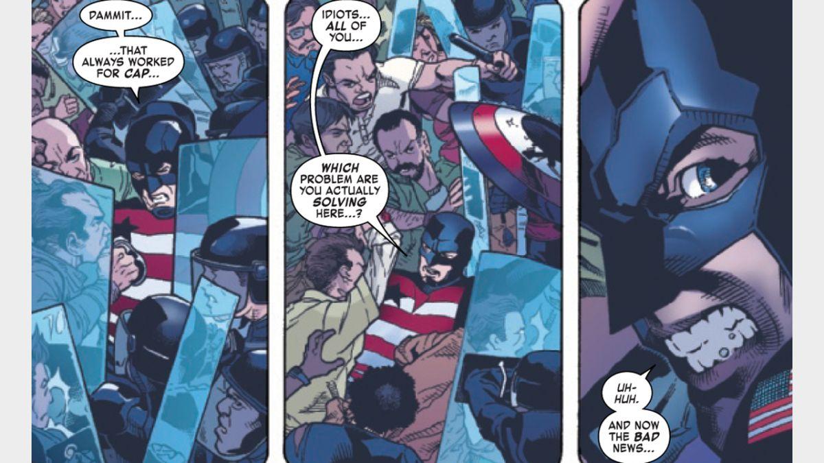 A John Walker se le recuerda que no es el Capitán América en la vista previa del Agente de EE. UU. # 4