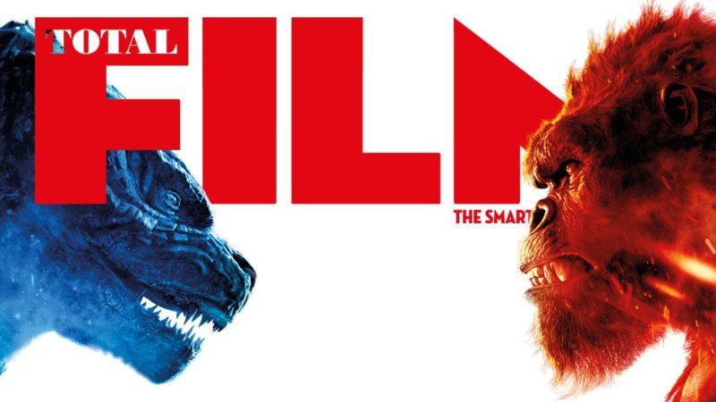 Godzilla vs. Kong está apareciendo en la portada del nuevo número de la revista Total Film, ¡ya a la venta!