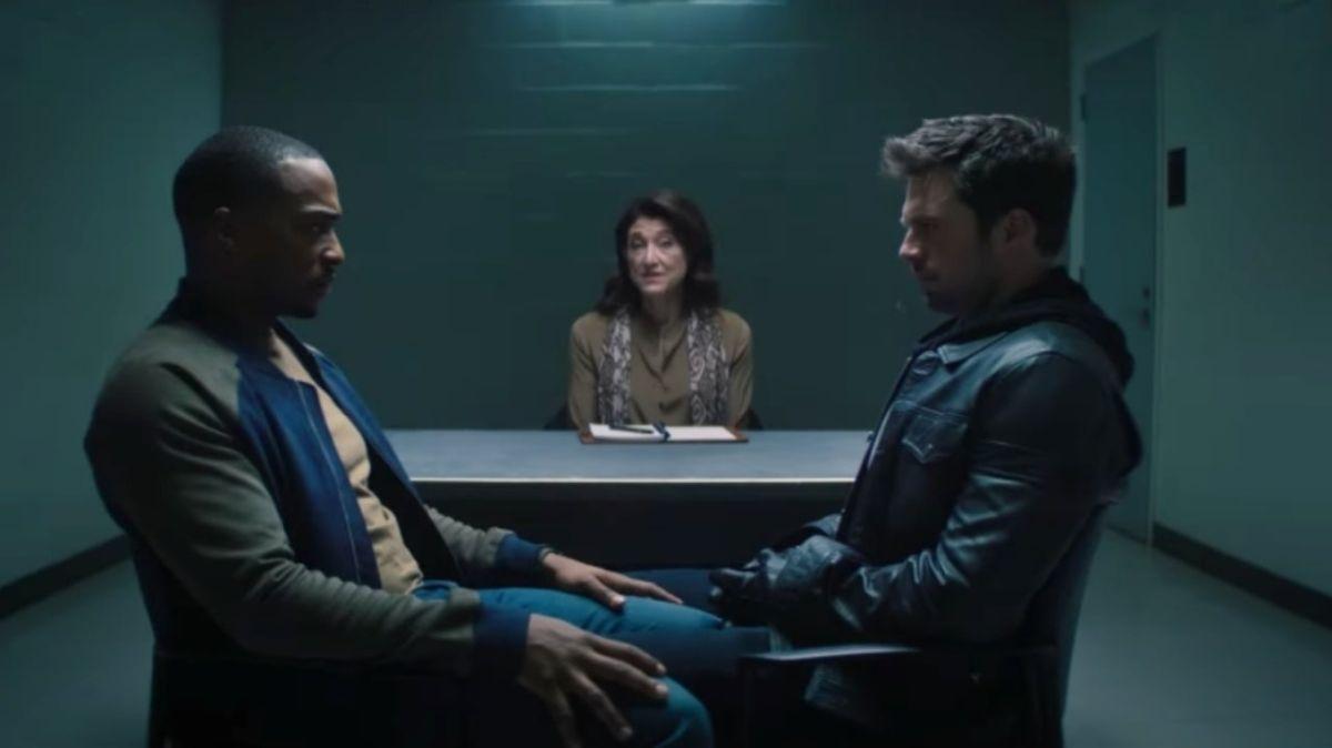 La estrella de Falcon and Winter Soldier habla como terapeuta de Bucky Barnes