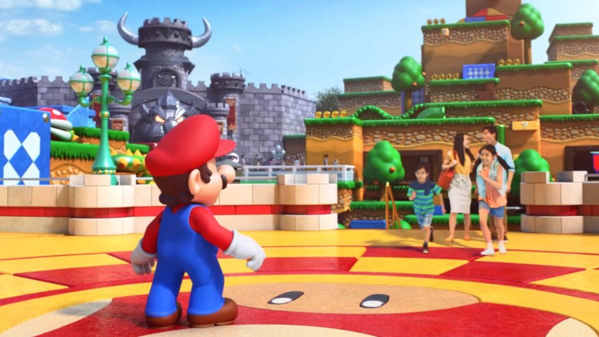 El Super Nintendo World Tour detalla las atracciones, la comida y los minijuegos.