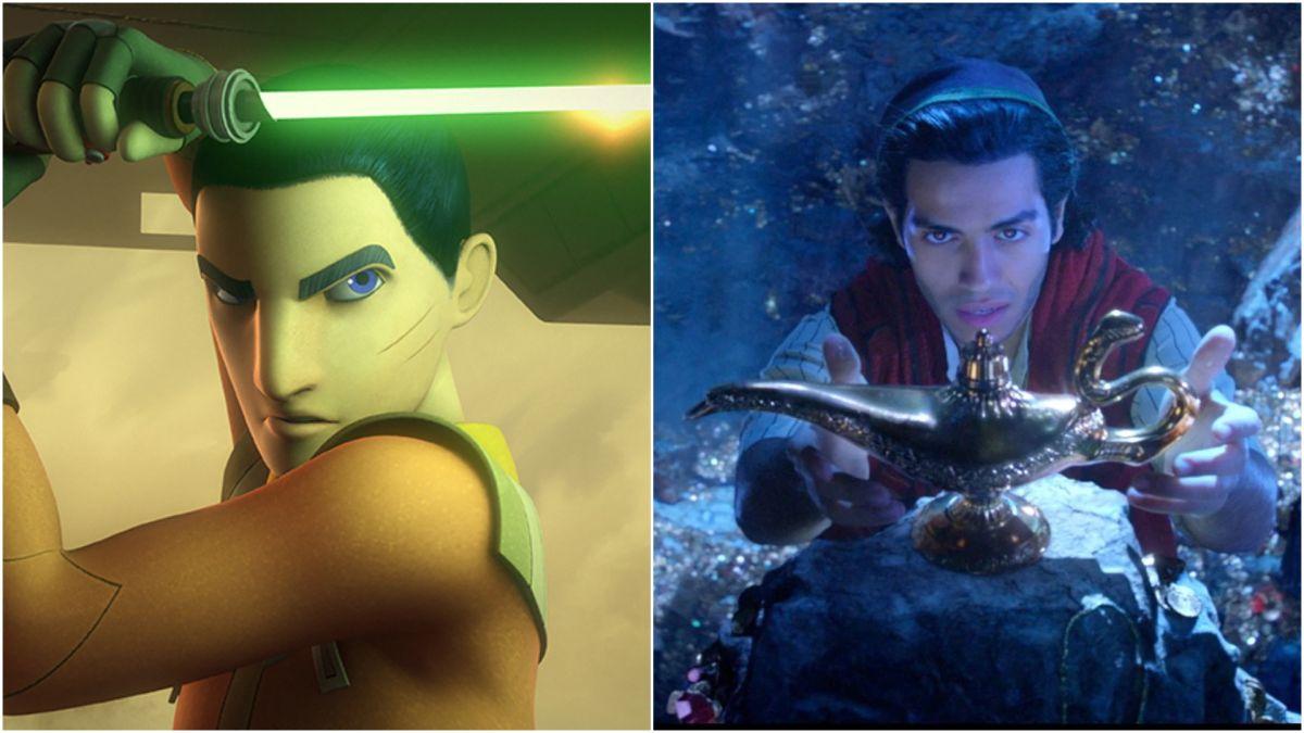 El actor de Star Wars: Aladdin Mena Massoud insinúa el papel de Ezra Bridger