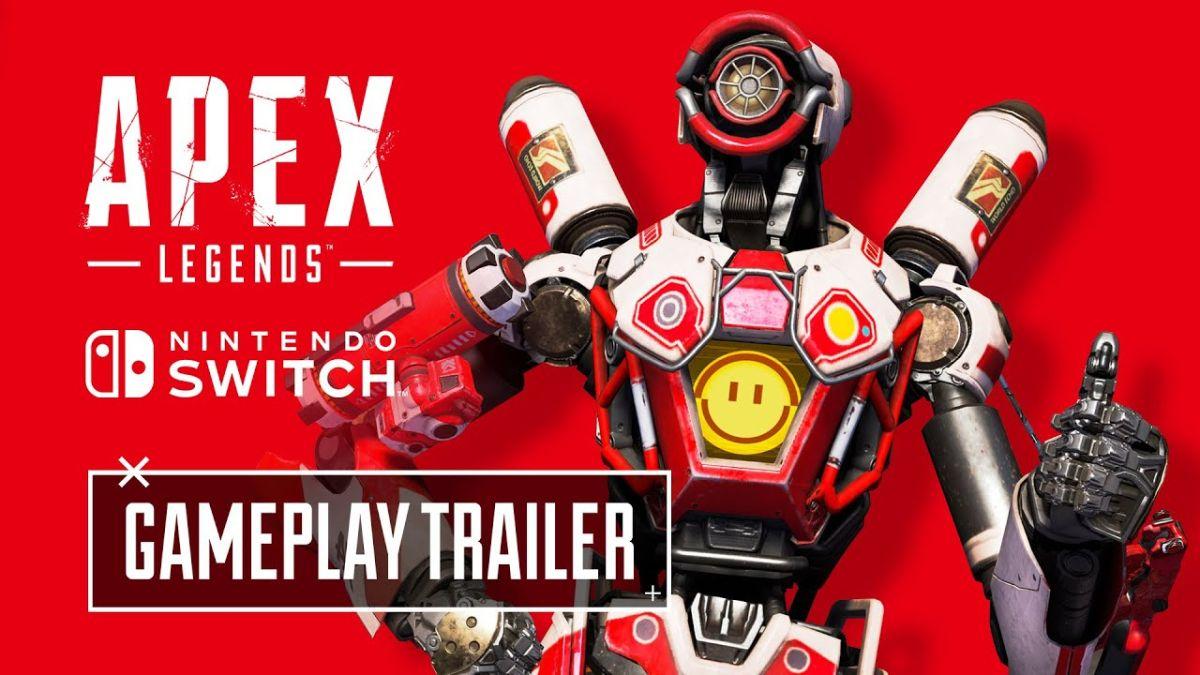 El primer tráiler de Switch de Apex Legends presenta el aspecto exclusivo de Pathfinder