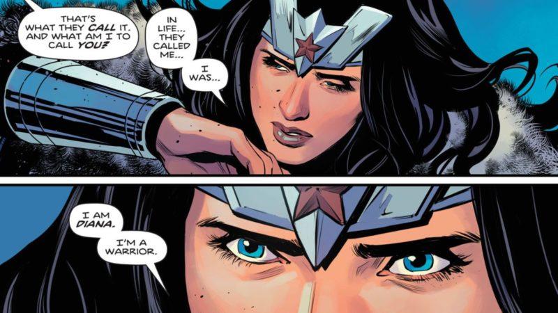 Vive, muere, repite en Valhalla con el adelanto de Wonder Woman # 770