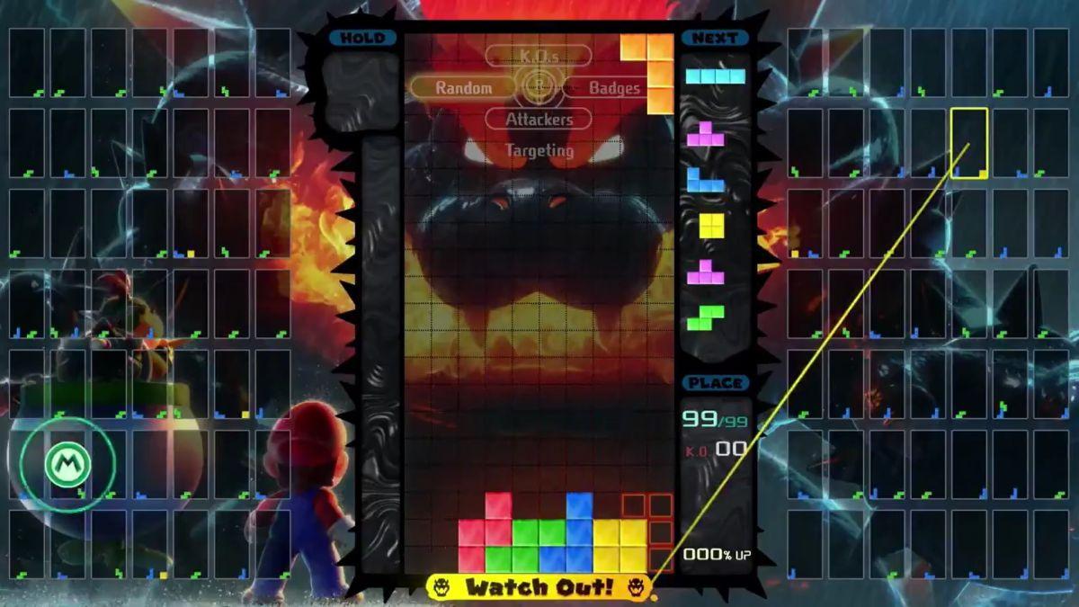 Super Mario 3D World + Bowser's Rage es el próximo tema del evento de Tetris 99