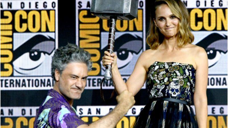 El nuevo Thor: Love and Thunder Leak aparentemente revela los orígenes de Thor de Jane Foster