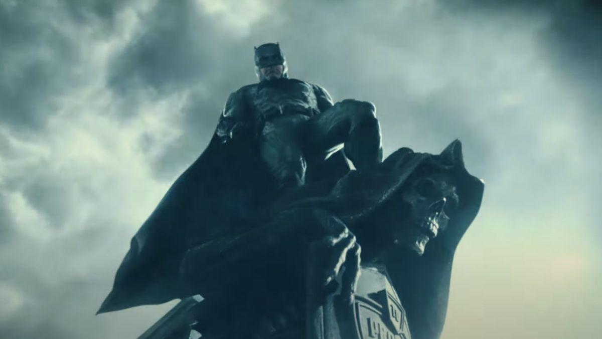 El nuevo teaser de la Liga de la Justicia de Zack Snyder ilumina a Batman
