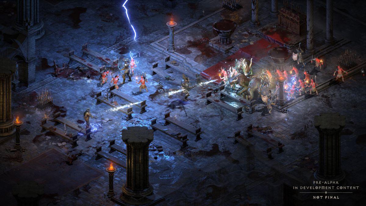 Diablo 2 Resurrected usa las capacidades DualSense de la PS5