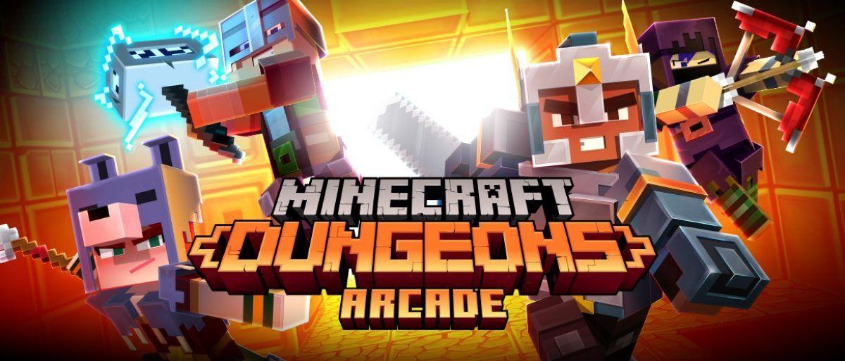 """Este nuevo gabinete arcade de Minecraft Dungeons ofrece """"una nueva experiencia"""""""