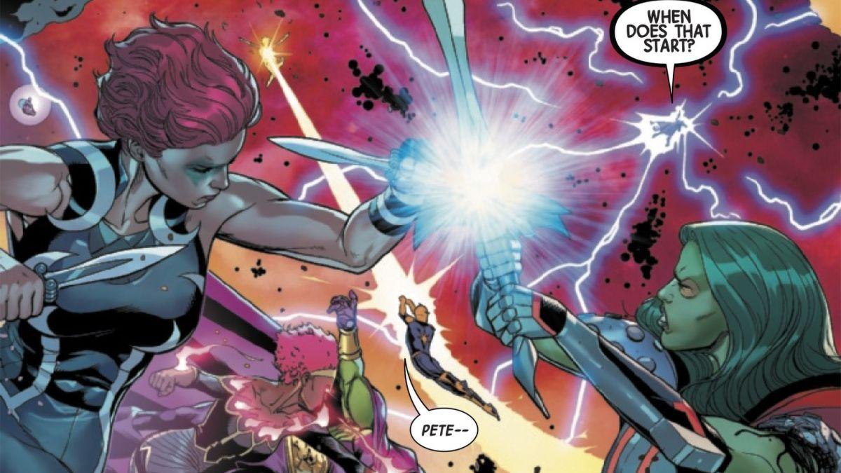 Los Guardianes de la Galaxia toman su último vuelo antes de la 'Nueva Era del Espacio' en el # 12 Preview