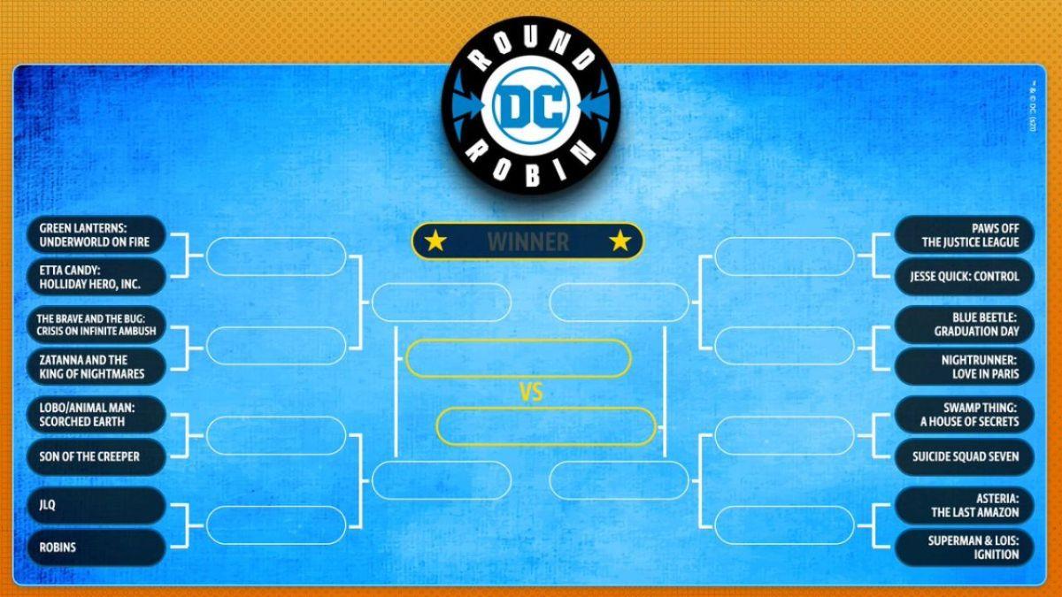 DC permite a los lectores elegir su próxima serie