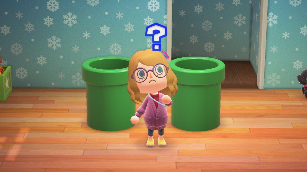 Los jugadores de Animal Crossing: New Horizons están encontrando nuevas formas de usar Super Mario Warp Pipe