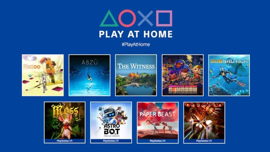 Estos 9 juegos de PS4 son gratuitos como parte del programa Play at Home de Sony