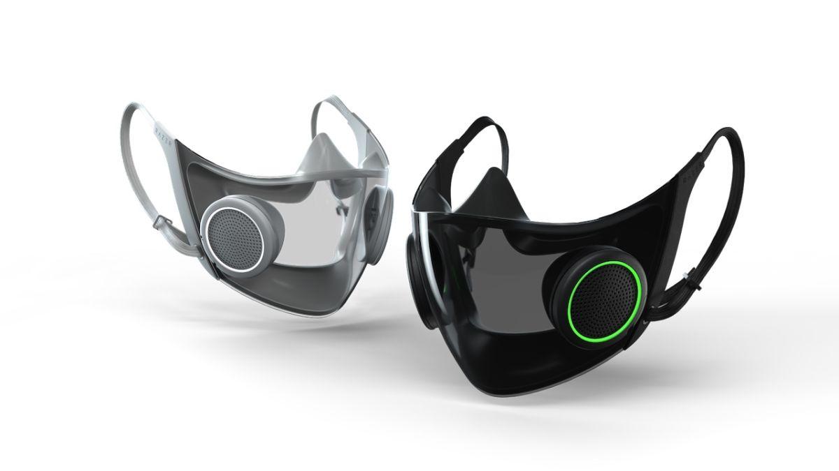 Razer confirma que su máscara facial RGB no es solo un concepto