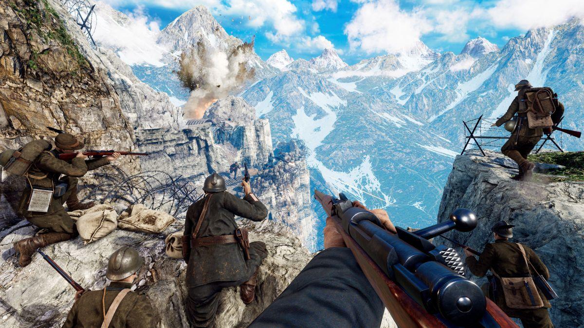 WW1 Isonzo es un FPS histórico disponible para PS5, Xbox Series X y PC en 2021