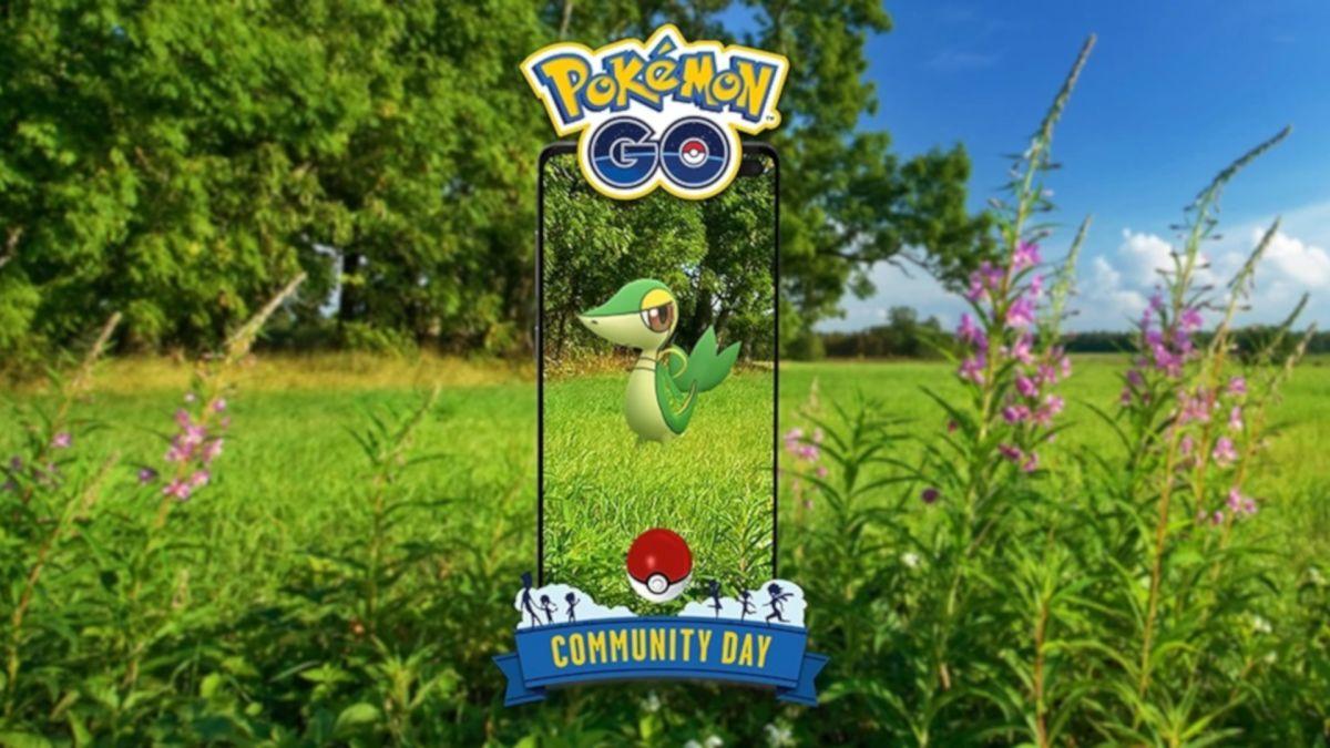 El Día de la Comunidad de Pokémon Go de abril presenta a Snivy