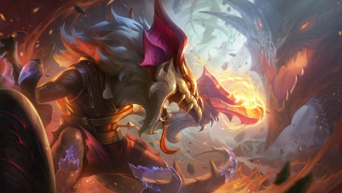 Nuevos aspectos de Blackfrost y Dragonslayer revelados para 6 campeones