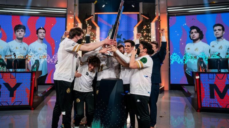 MAD Lions gana el primer título de la LEC después de derrocar a Rogue