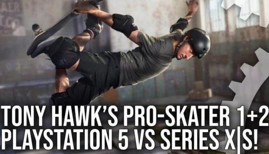 Patinador profesional 1 + 2 de Tony Hawk: PS5 vs Xbox Series X |  S – 120 fps es un cambio de juego