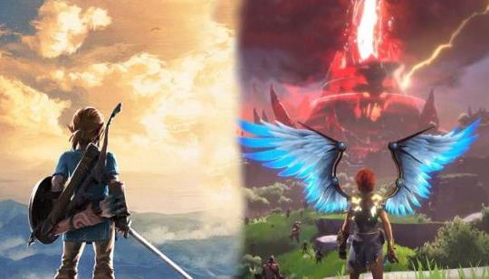Immortals Fenyx Rising, desarrollador de Zelda: Breath of the Wild, comparaciones