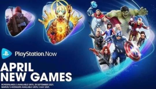 PlayStation Now: Borderlands 3 y Marvel's Avengers PS5 Upgrade requiere pago