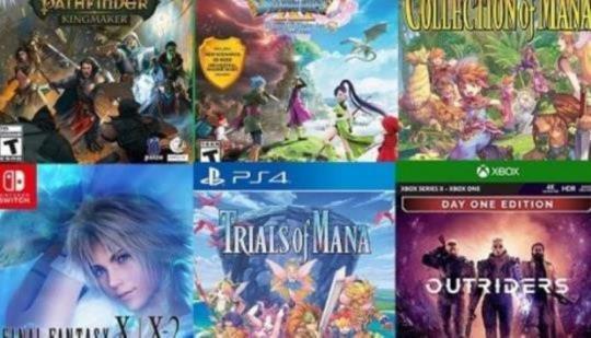 Amazon ahorra hasta un 60% en varios juegos de RPG y Square Enix